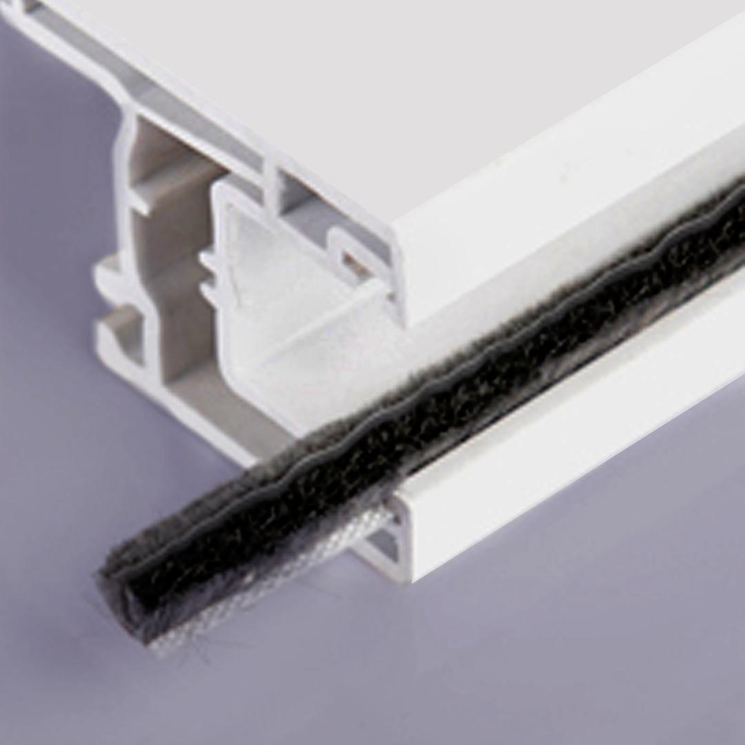 Respaldo con propileno para puerta y ventana de PVC y Aluminio, muy fácil de colocar
